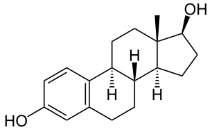 Structure of estradiole.